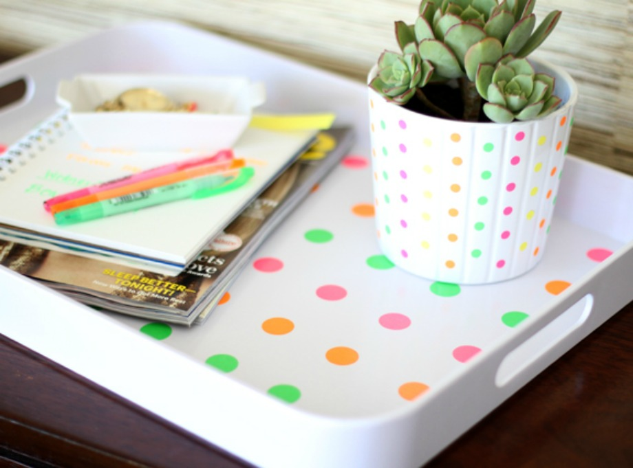 Φτιάξτε πουά σχέδιο στον δίσκο σας