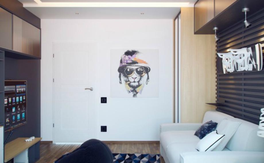 Οι αφίσες δίνουν χρώμα σε ένα εφηβικό δωμάτιο και προσθέτουν στοιχεία από την προσωπικότητα του παιδιού