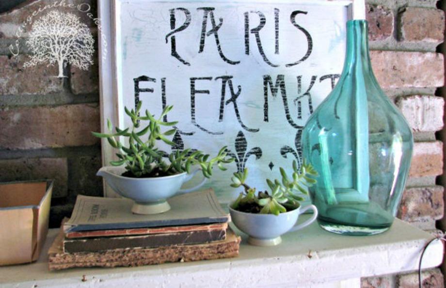 Φυτέψτε στα φλυτζανάκια σας όμορφα φυτά για να δώσετε ζωντάνια στο δωμάτιό σας