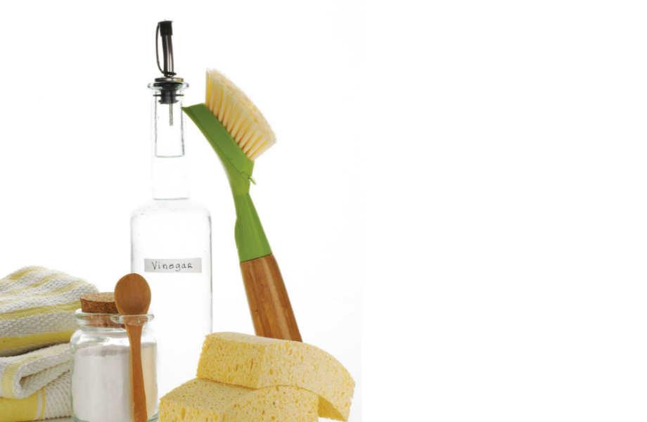 Το λευκό ξίδι θα σας βοηθήσει να κάνετε το μπάνιο σας... λαμπίκο!