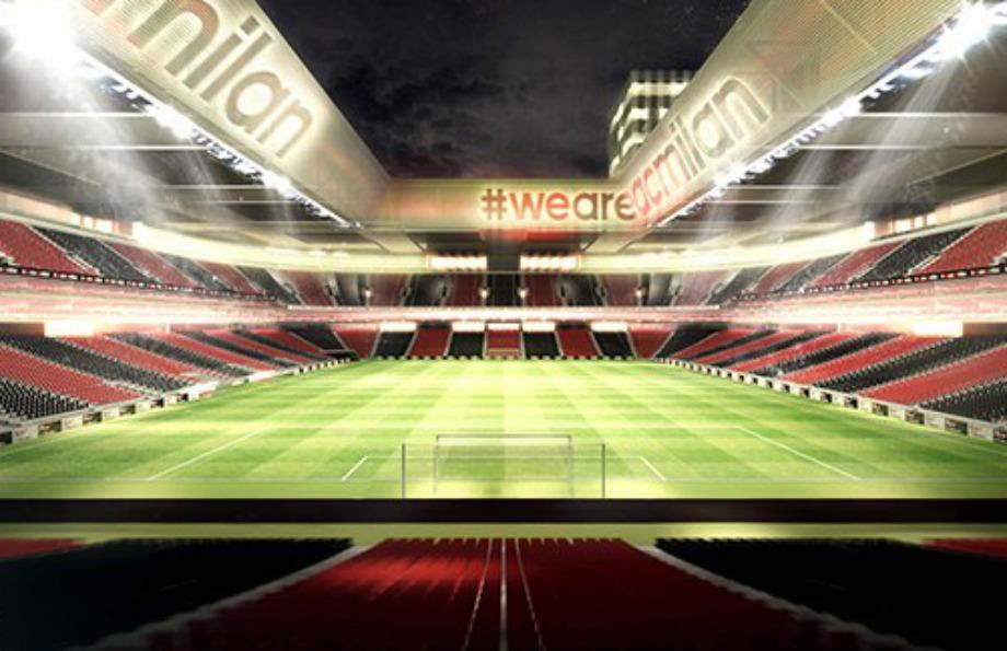Το γήπεδο της Μίλαν θα χωράει 48000 κόσμο