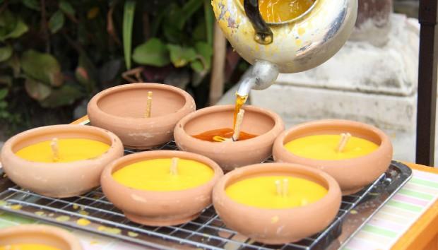 DIY της Λαμπρής: Φτιάξτε ένα Υπέροχο Κερί με τις Λαμπάδες που Ξέμειναν