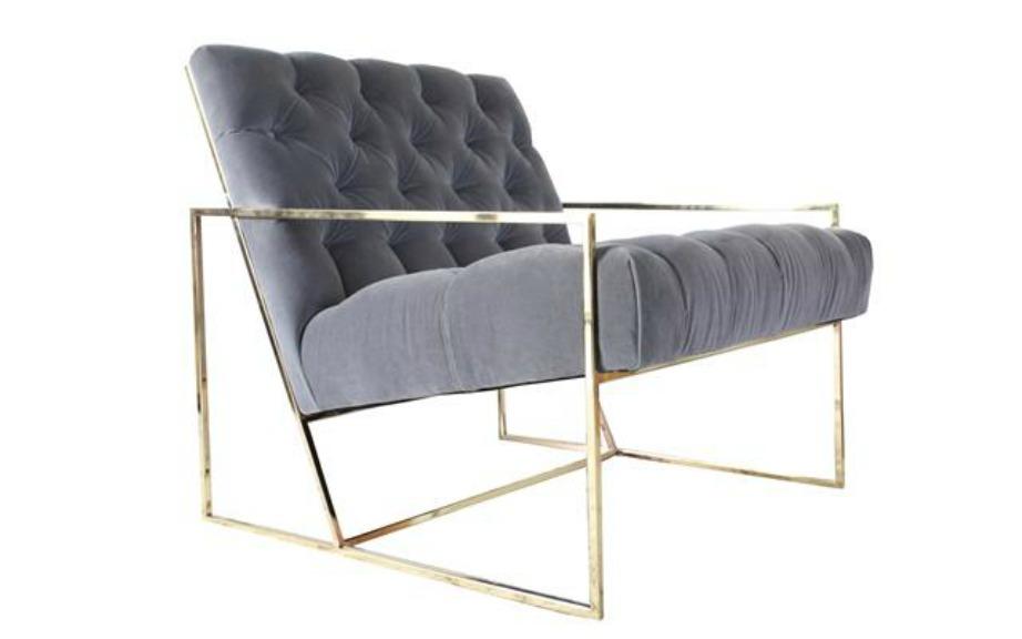 Μια πολυθρόνα με κυβικά μπράτσα είναι μια πολύ καλή επιλογή για μοντέρνα διακόσμηση