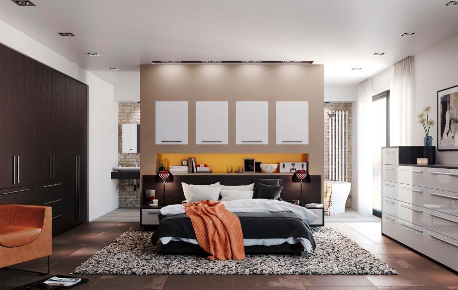 Χρησιμοποιήσετ απαλά χρώματα για το δωμάτιό σας και ενισχύσετ με μερικά πολύχρωμα διακοσμητικά