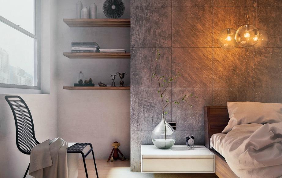 Ένα δωμάτιο χωρίς κουρτίνες θα γεμίσει φως και ζεστασιά