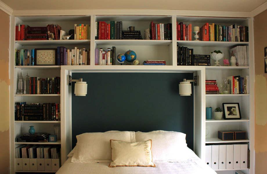 Αν δε μπορείτε να αποχωριστείτε τα βιβλία σας, φροντίστε ξεσκονίζετε τα ράφια της βιβλιοθήκης σας 1-2 φορές την εβδομάδα.