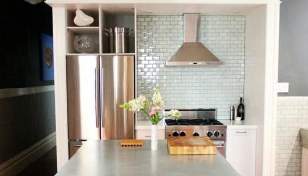 «Πώς μπορώ να εκμεταλλευτώ τον χώρο πάνω από το ψυγείο μου;»
