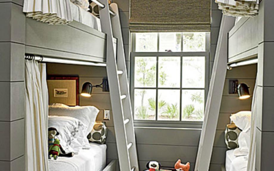 Βάλτε κουρτίνες στα κρεβατάκια των παιδιών σας για να νοιώσουν πιο αυτόνομα
