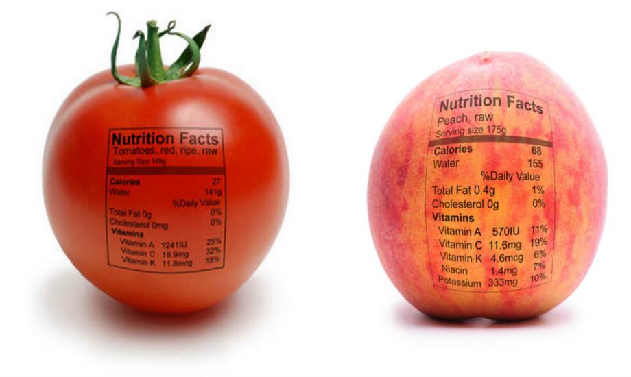 Υπάρχει λόγος που τα φρούτα και τα λαχανικά δεν συνοδεύονται ποτέ από ετικέτες: είναι τελείως φυσικά!