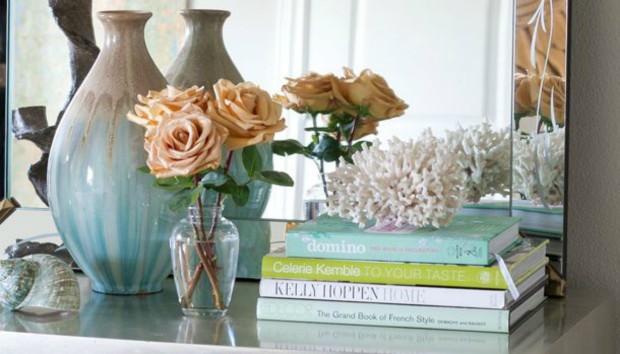 6 Τρόποι να Διακοσμήσετε το Σπίτι σας με Βιβλία