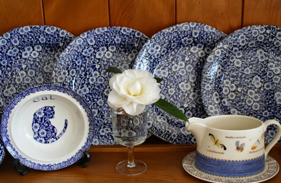 Τα μπλε πιάτα σας εμποδίζουν από το να δείτε -κυριολεκτικά- άσπρο πιάτο!