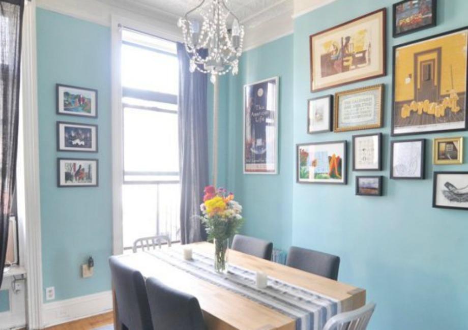 Ένα παλ μπλε είναι ιδανικό για σαλόνι και υπνοδωμάτιο ενώ ταιριάζει πολύ και στην κουζίνα