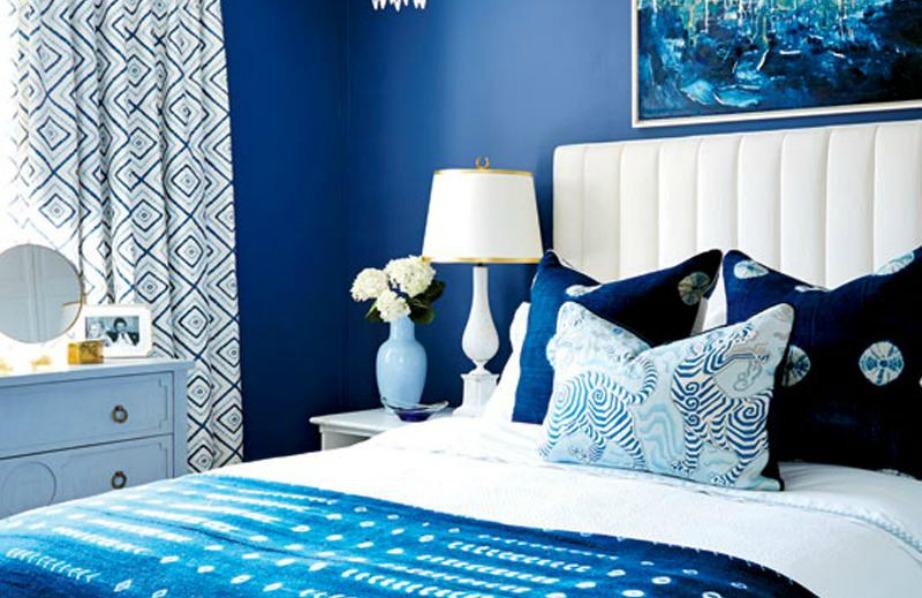 Το μπλε είναι ένα χρώμα που ταιριάζει πολύ σε υπνοδωμάτια σε όλες τις δυνατές του αποχρώσεις