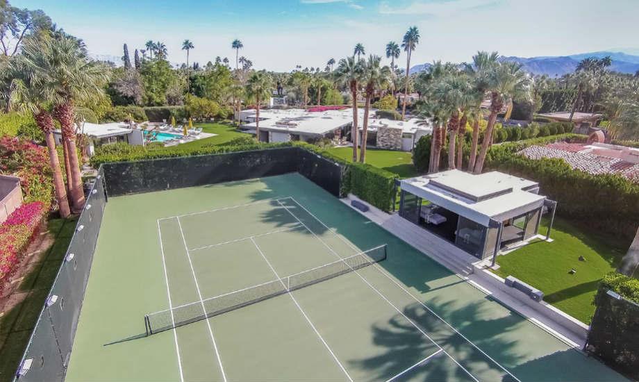 Ο επόμενος ένοικος του σπιτιού σίγουρα θα γίνει άσος στο τένις!