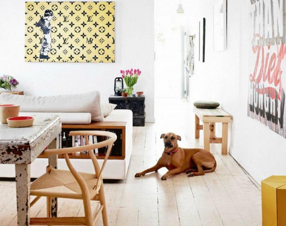 Χρησιμοποιήστε το ξύλο όσο το δυνατόν περισσότερο μέσα στο σπίτι σας.