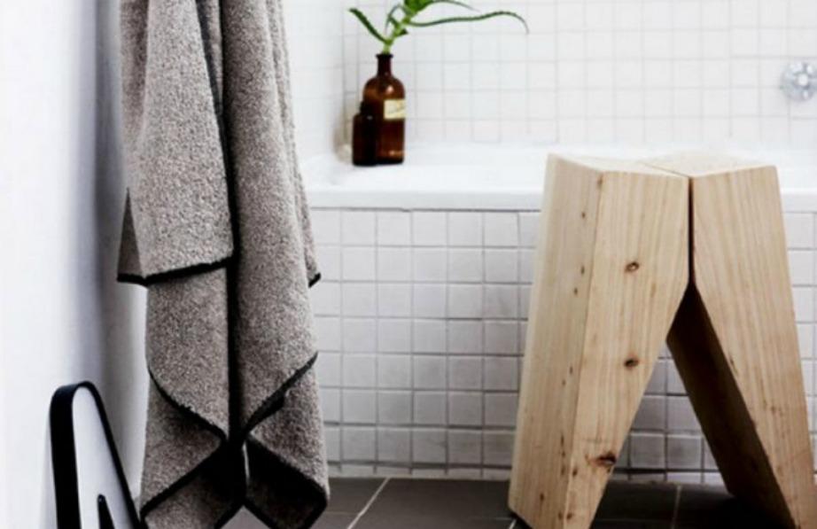 Το μη επεξεργασμένο ξύλο δίνει ωραία πινελιά μέσα σε κάθε σπίτι.