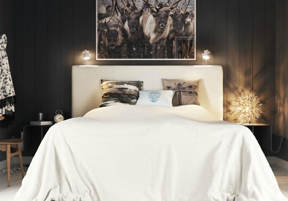 Το καφέ είναι μια πολύ ζεστή απόχρωση που με τον κατάλληλο φωτισμό δημιουργεί μια υπέροχη ατμόσφαιρα σε ένα υπνοδωμάτιο