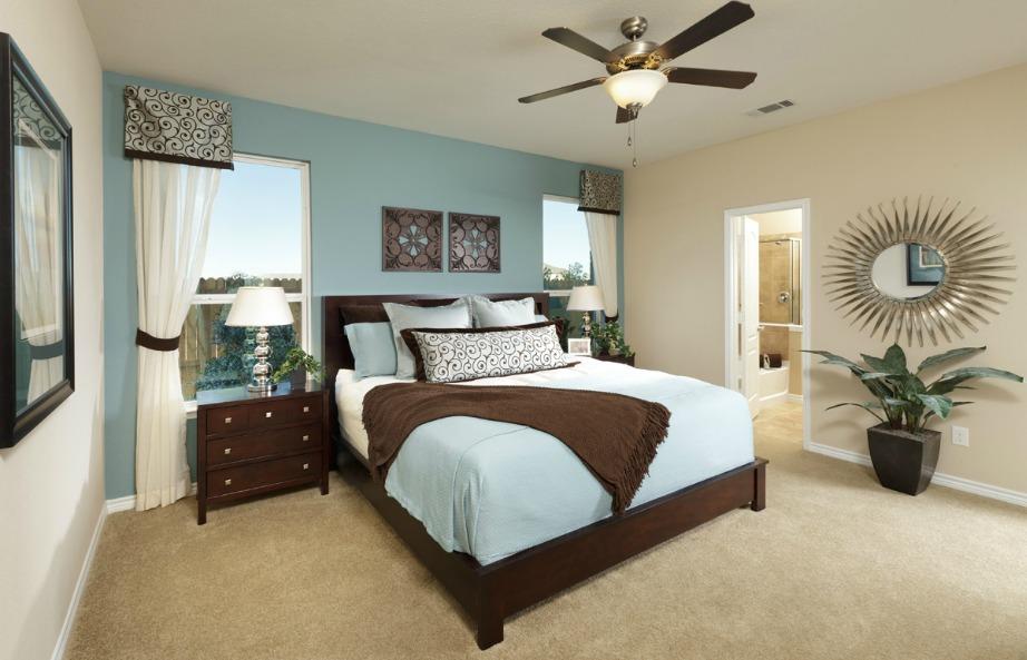 Προσθέστε ανεμιστήρα οροφής και θέρμανση για να ρυθμίζετε την κατάλληλη θερμοκρασία στο δωμάτιό σας