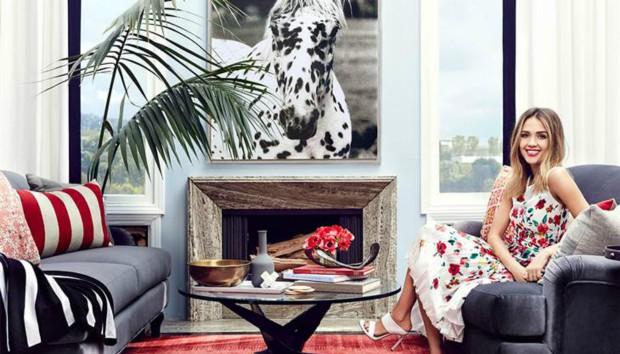 5 Ιδέες Διακόσμησης για να «Κλέψετε» από το Σπίτι της Jessica Alba