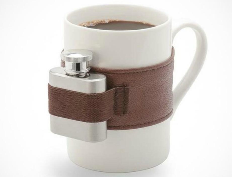 Αν αγαπάτε τον καφέ αλλά και το ποτό, αυτή η κούπα είναι κατάλληλη για εσάς.