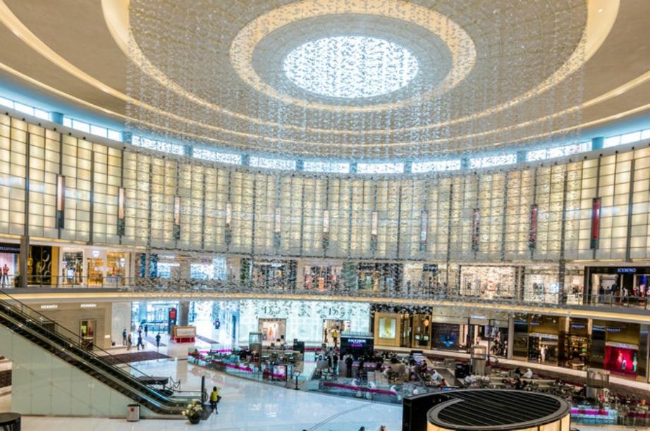 Το Dubai Mall στο Ντουμπάι...