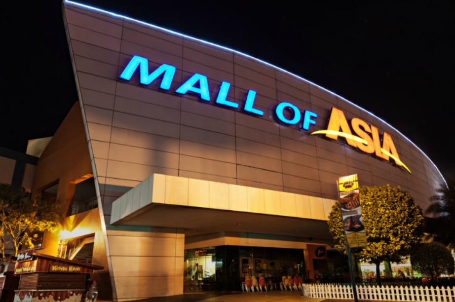 Το Mall of Asia στην Ασία...