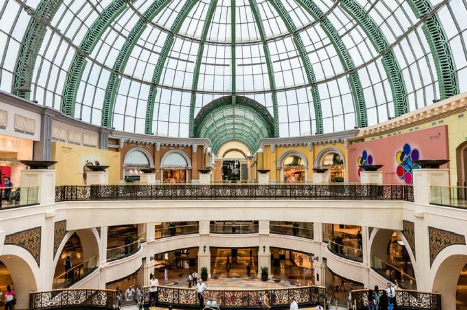 Το Mall of Emirates στο Ντουμπάι...