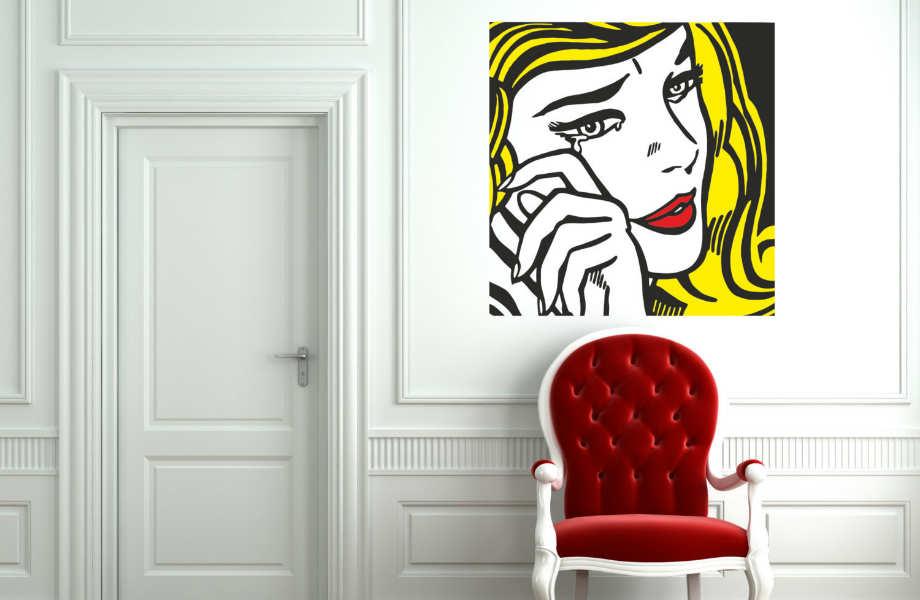 Η τέχνη της εποχής αποτελεί τον πιο εύκολο τρόπο για να φέρετε ρετρό αέρα στο σπίτι σας