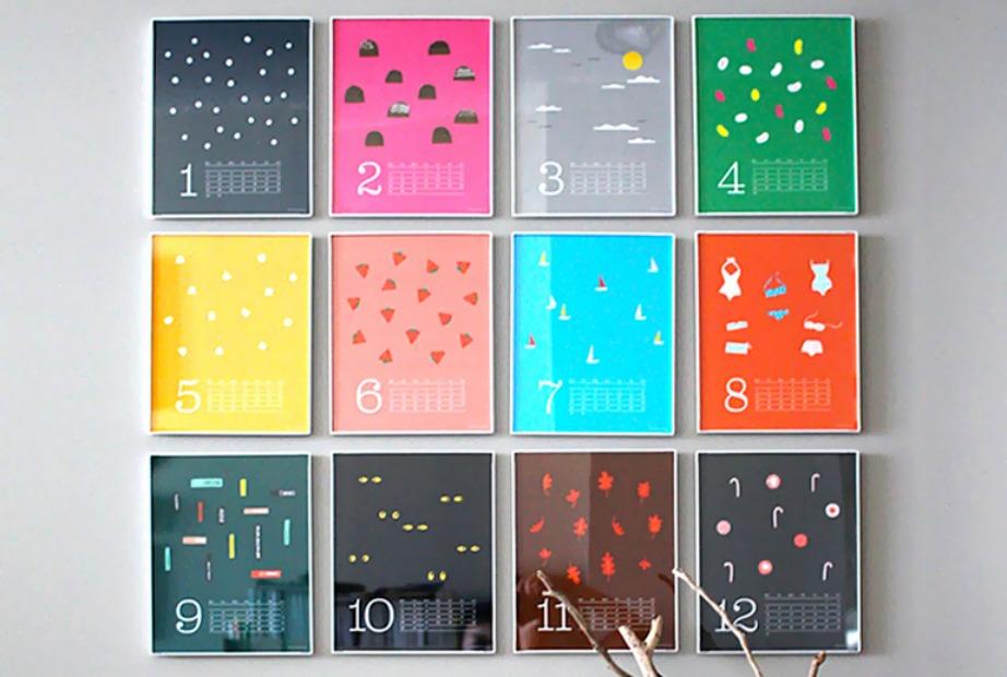 Είτε βάλετε πίνακες με φωσφοριζέ χρώματα, είτε παλ πίνακες με neon κάδρα, το αποτέλεσμα θα είναι εξίσου εντυπωσιακό