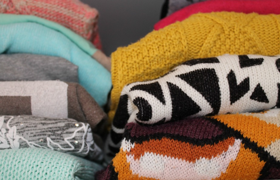 Μην κρατάτε παλιά πουλόβερ και πετσέτες που δεν χρειάζεστε