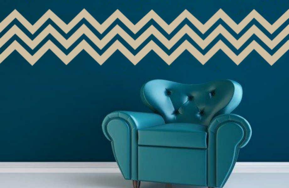 Δεν υπάρχει καλύτερος τρόπος να ζωντανέψτε τους τοίχους σας από ένα μοτίβο.