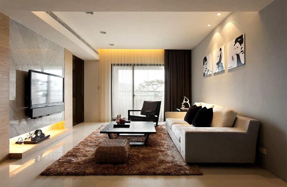 Κι όμως ένας τριθέσιος καναπές θα κάνει το στενό καθιστικό σας να φαίνεται πιο μεγάλο κι άνετο!