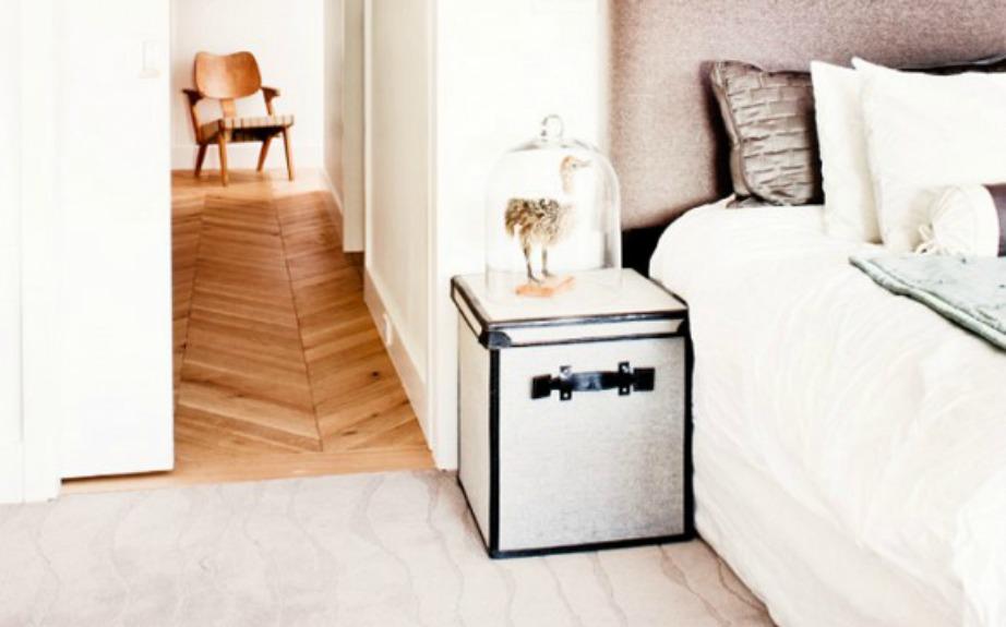 Ένα μπαούλο μπορεί να χρησιμοποιηθεί ως τραπεζάκι αλλά και σαν αποθηκευτικός χώρος ταυτόχρονα