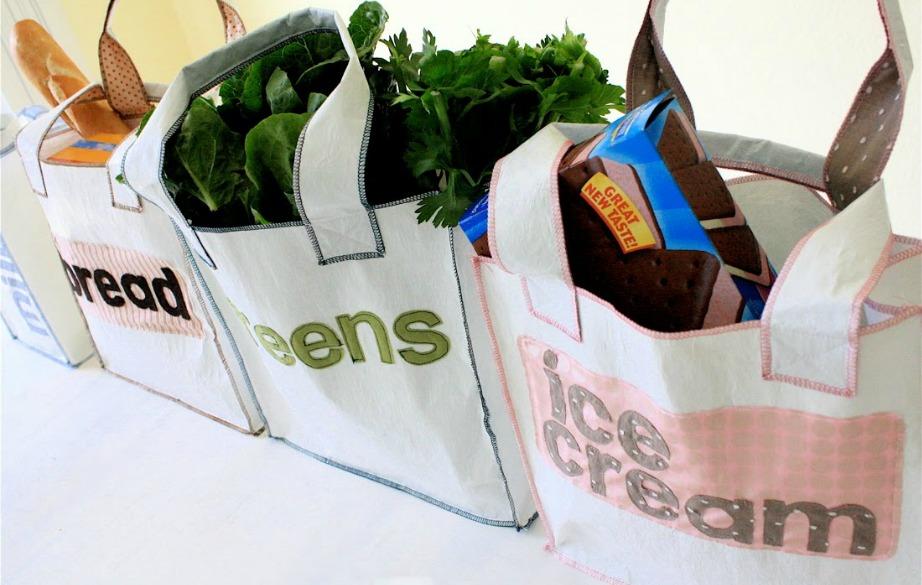 Η οικολογική τσάντα ωθεί τους ανθρώπους να αγοράζουν ανθυγιεινά τρόφιμα