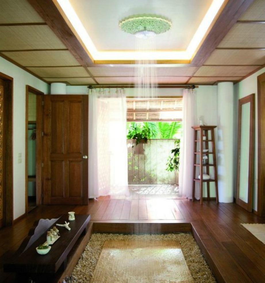 Φανταστείτε τον εαυτό σας να κάνει μπάνιο σε έναν τέτοιο χώρο..Απλά μαγικό!