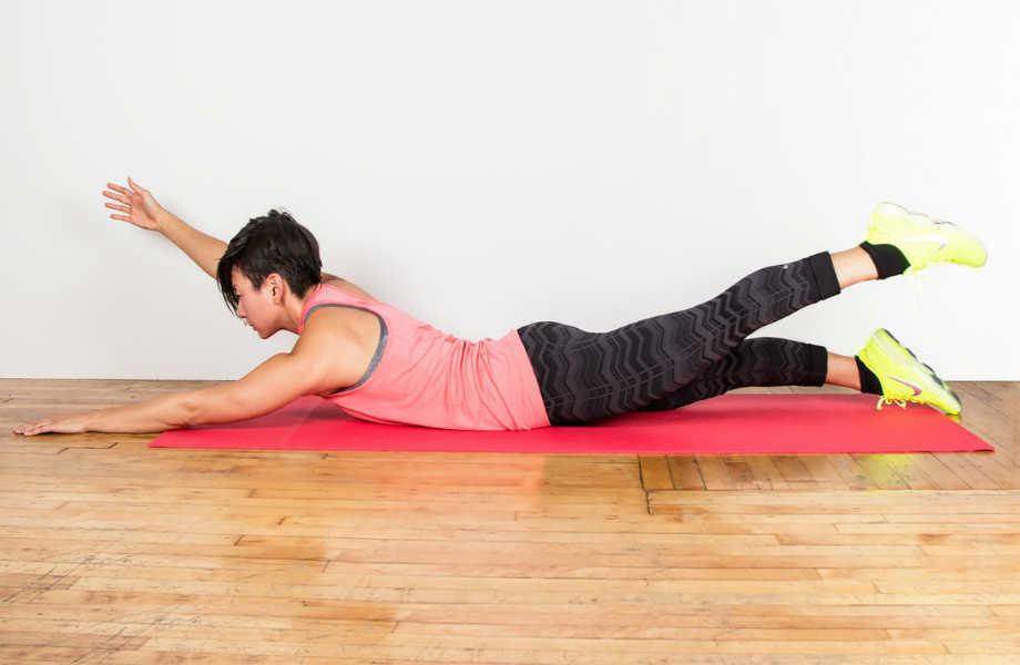 Πέρα από την κυτταρίτιδα, αυτή η άσκηση θα σας βοηθήσει να βελτιώσετε τη στάση του σώματός σας.