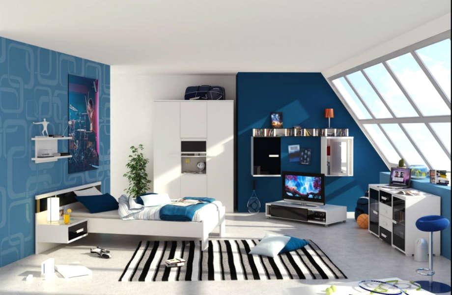 Βάψτε το (δωμάτιο) μπλε: όχι μόνο ενισχύει τη μνήμη αλλά διώχνει το στρες!