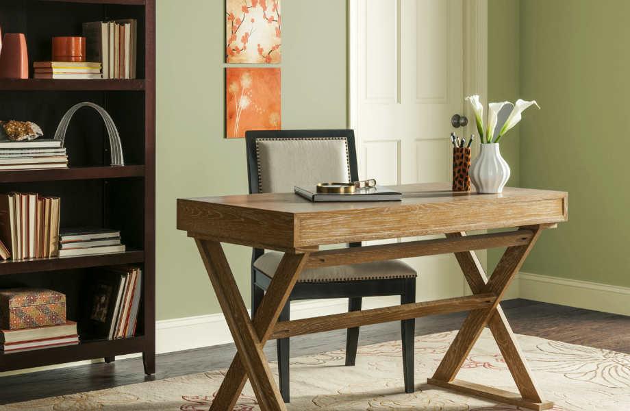 Το πράσινο του φασκόμηλου αποτελεί την πλέον εκλεπτυσμένη επιλογή για το γραφείο σας.