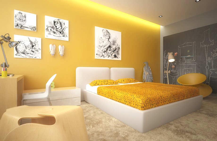 Το  απαλό κίτρινο του βούτυρου όχι μόνο σας βοηθά να συγκεντρωθείτε, αλλά σας  χαρίζει και ήσυχα βράδια.