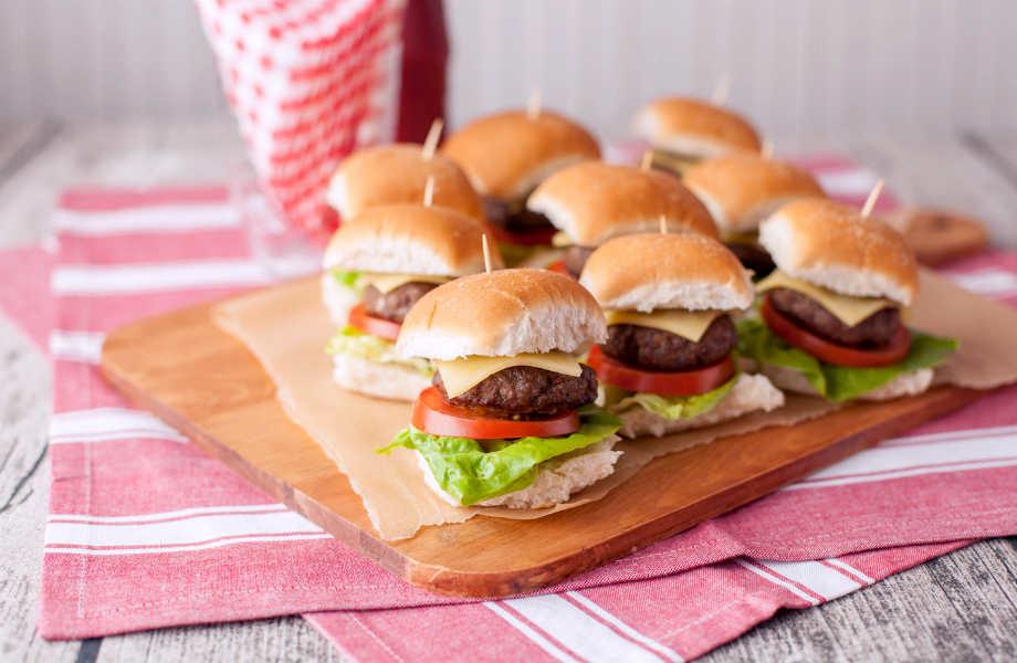 Μπέργκερ το υγιεινό: το άπαχο μοσχαρίσιο κρέας είναι καλό για... σκέψη.