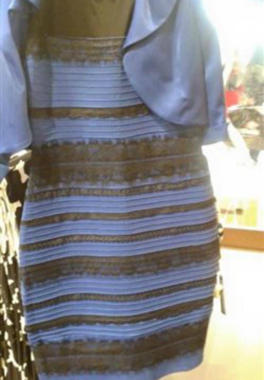 Αυτό είναι το φόρεμα που δίχασε όλο τον κόσμο. Εσείς τελικά τι χρώμα το βλέπετε;