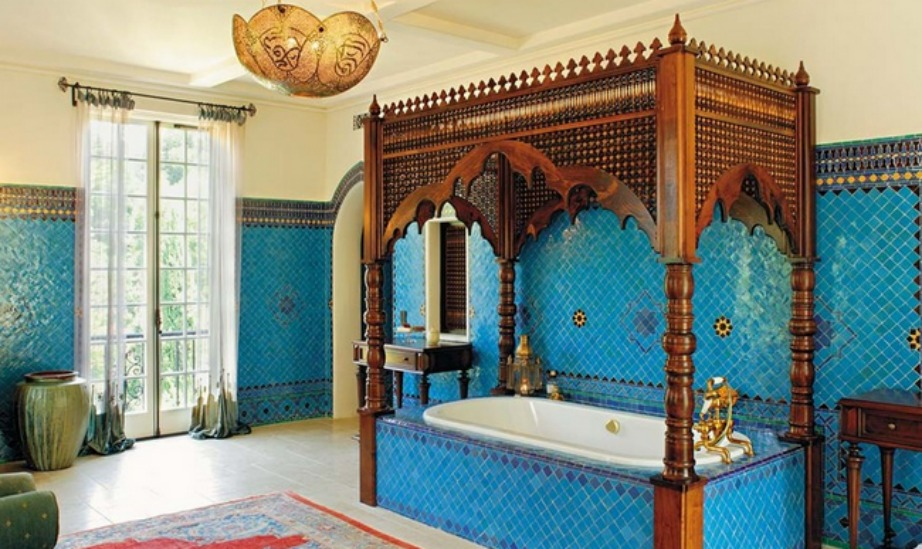 Ένα μπάνιο εμπνευσμένο από τη δημοφιλή σειρά.