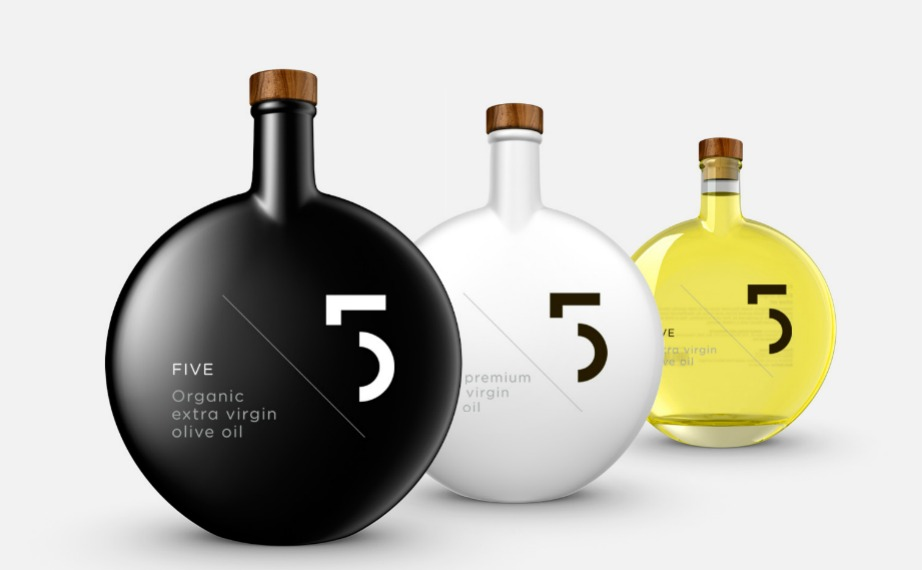 Οι υπέροχες συσκευασίες του «5 olive oil».