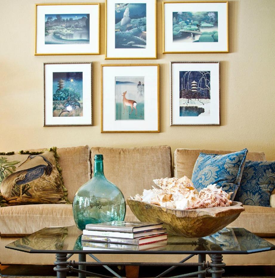 Εμπνευστείτε από τη φύση, τις θάλασσες και το καλοκαίρι για να δημιουργήσετε ένα σαλόνι με νησιώτικες επιρροές στα δικά σας μέτρα.
