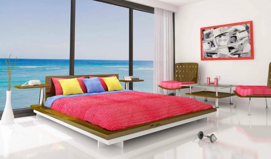 Μια μίνιμαλ διακόσμηση με όμορφα χρώματα είναι η καλύτερη επιλογή.