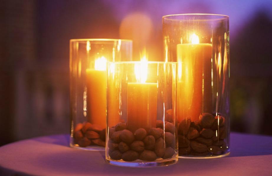 Αυτά τα κεριά είναι κατάλληλα για βεράντες.