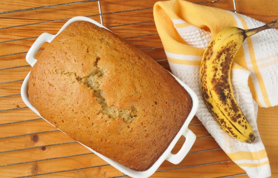 Μπορείτε να φτιάξετε φανταστικό ψωμί με φρούτα.