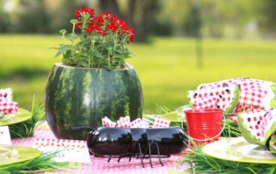 Δημιουργήστε όμορφα γλαστράκια για ντεκόρ στο τραπέζι σας.
