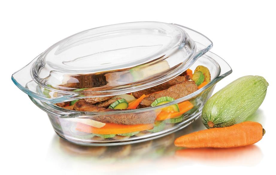 Με μαγειρική σόδα και σαπούνι πιάτων τα πυρέξ σας θα λάμψουν και πάλι.