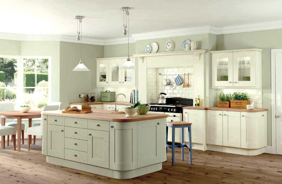 Κατευναστικό και φωτεινό, το πράσινο του φασκόμηλου είναι ιδανικό για την κουζίνα σας.